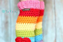 Crochet Boot/Hand Cuffs