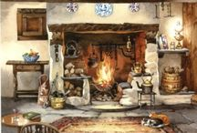 COOKING FIREPLACE / by Cindy Givans