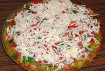 """Pizza Party / Both """"new and unique"""" and more-traditional pizza recipes for a pizza get-together in your home or to bring to a party."""