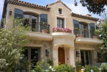 Californian & mediterranean residential styles
