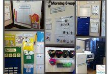 Autism classroom setup