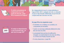 Infografía Tributaria Chilena / Dar a conocer los aspectos tributarios que se han desarrollado desde que comenzó la Reforma Tributaria en el año 2014