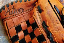 Leather Monogramming, Engraving, Debossing and Embossing / Leather engraving and embossing examples at Inkwell Designers.