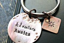 Hand Stamped Gift Ideas / Inspiration for personalized, hand stamped gifts!