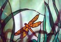 Glasmalerei, Glaskugeln