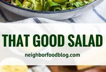 Salads/slaw