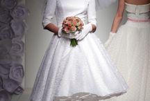 Tea length wedding