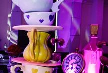 Alice in wonderland. Decoration ideas