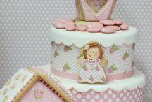 pastel con galleta