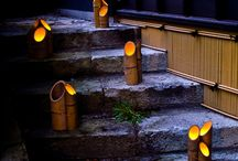 bambus lampy