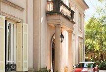 Residential Exterior Ideas / Neoclassic, Antebellum, Beaux Arts, Georgian, Palladian, Traditional and modern twists of traditional architecture styles