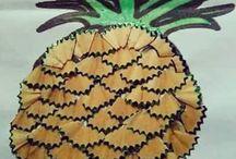 Pineapple craft and art ideas