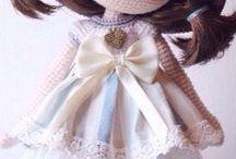 szydełkowe lale