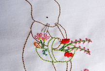 Seasonal embroidery
