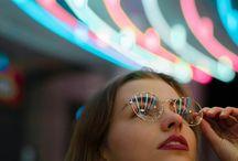 Neon lights portraits