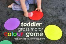 actividades infantiles: aprender / aprender a contar, colores, letras de una manera amena y divertida