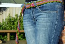 Crocheted Apparell; Tops, Skirts, Shawls, Belts, slippers, etc / by Rhonda McKenzie