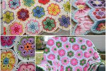 Crochet African Flowers