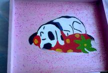 műveim / szeretek festeni és másokat megajándékozni