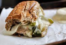 Food ~ Burgers and Sammies / by Martha Knowles