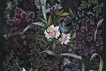 Flower textile design bu Wiliam Kibum