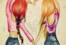 Ma meilleure amie ♥♥♥ Pour Néomie ♥♥♥ / Ce tableaux est pour toi Néomie ♥♥♥ Je t'aime et je t'aimerais jusqu'à ma mort ♥ Et je voulais te dire a qu'elle point tu est ma meilleure amie ♥♥♥ Bisous