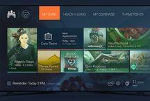SmartTV app UI