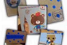 Bebé personalizado / Todo lo que puedas imaginar personalizar para un bebé, está en: www. originalbox.es