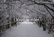 ⭐ # things i love about winter ⭐
