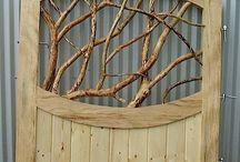 na próbę / inspiracje drewnem