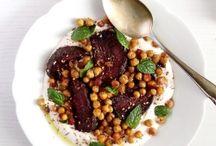Vegetarian plated ideas