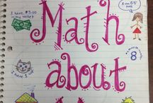 MATH JOURNAL IDEAS / by Carol Foster