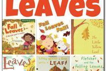 Preschool: Leaves/Letter L