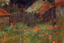 Peinture paysages