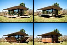 El cabin pérgola
