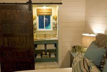 Small cabins interior
