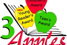 Teen 3 Apples Book Award / Each year teens in grades 7-12 (ages 13+) nominate their favorite book, creating a statewide ballot of fifteen of the most popular titles.  After reading at least three of the top fifteen, teens vote to select one as their favorite.  That book and its author are honored with the presentation of the 3 Apples Book Award, and celebrations take place across the state in school and public libraries.  For more information on the 3 Apples Book Award, please visit: www.3applesbookaward.org.