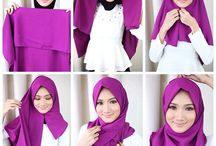 square hijab tutorials