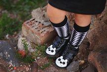 Batukai mergaitėms / stilingi batukai mergaitėms