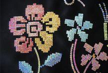 Вышивка пайетками / Красивая вышивка пайетками