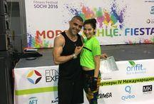 Reebok fiesta 2016. Sochi / Fitness