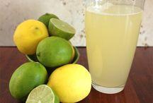 WATERS♥ICED~TEAS♥LEMONADES~ / fruit fused waters,,iced teas..lemonades.. / by rachy