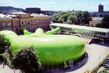 Kyss Frosken / Inflatable structure