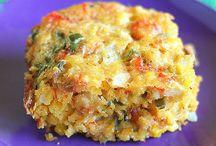 Laissez les Bon Temps Rouler / Cajun cooking! Crawfish, étouffée, jambalaya, red beans and rice, king cakes, hurricanes...