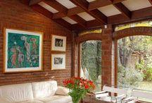 creación espacios interior / Tipos de terminaciones en construcción de casas