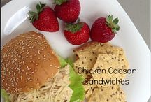 Sandwiches / Sandwich Recipe Board / by Donna Hup