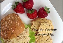 Sandwiches / Sandwich Recipe Board