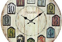 Relojes madera reciclada
