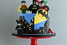 Torta Lego Batman Spiderman Superoi