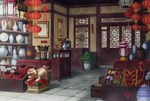 ancient china, japan, korea